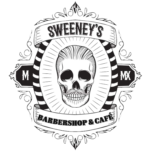 Sweeneys - logo white 512pxd